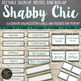 Shabby Chic Farmhouse Labels and Posters