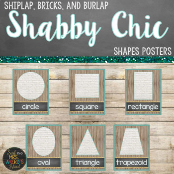 Farmhouse Shapes Posters