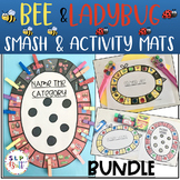 BEE & LADYBUG SMASH MATS, BUNDLE (ARTICULATION & LANGUAGE) BUGS, SPEECH THERAPY