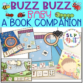 BUZZ BUZZ BABY, BOOK COMPANION (SPEECH THERAPY, AAC, AUTISM, BUGS)