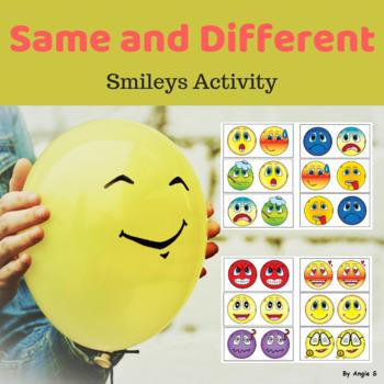 Same or Different- Smileys
