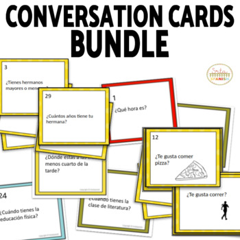 Novice Conversation Cards Bundle
