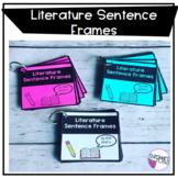 Literature Sentence Frame Cards