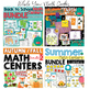 Math Centers for Kindergarten for the Entire Year
