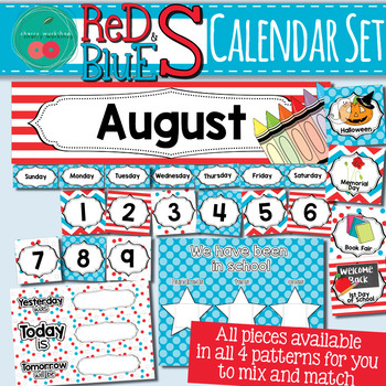 Dr Seuss Inspired Calendar Set