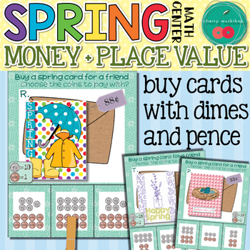 Spring Math Center Money and Place Value