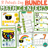 St Patrick's Day Math Centers BUNDLE