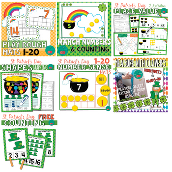 St Patrick's Day Math Activities