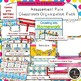 Amusement Park Binder Covers and Classroom Organization Pack