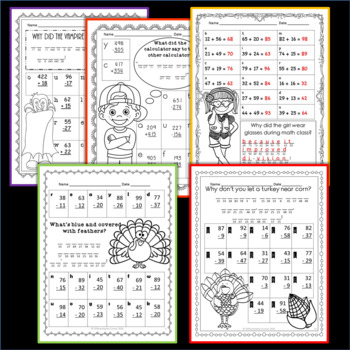 Math Riddles Fall Bundle
