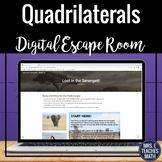 Quadrilaterals Digital Escape Room Activity