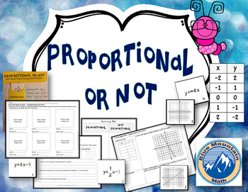 Proportional or Not--Identifying Proportional parts
