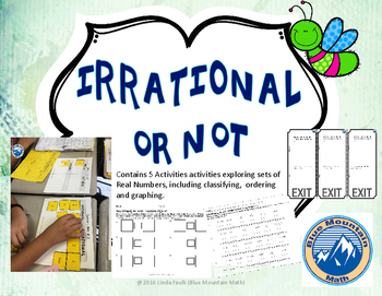 Irrational or Not--Real Number System Activity