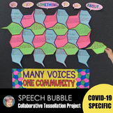 **50% off 2 Days** COVID-19 Specific Speech Bubble Tessell