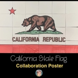 California State Flag Collaboration Poster
