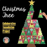 Tessellated Christmas Tree Class Collaboration Activity