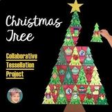 Tessellation Christmas Tree - Collaborative Christmas Activity / Christmas Craft