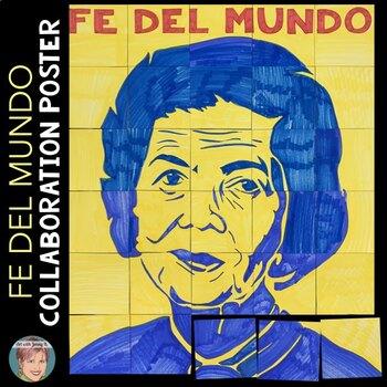 Fe del Mundo Collaboration Poster | Filipino American History Month Activity