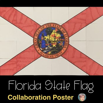 Florida State Flag Collaboration Poster