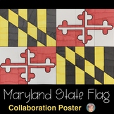 Maryland State Flag Collaboration Poster