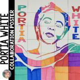 Portia White Collaboration Poster