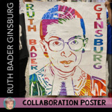 Ruth Bader Ginsburg Collaboration Poster (RBG) | Great for