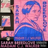 Sarah Breedlove - Madam C.J. Walker Collaborative Poster | Women's History Month