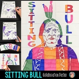 Sitting Bull Collaboration Poster: Great Native American H