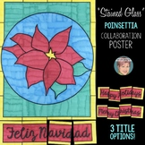 """Stained Glass"" Poinsettia Collaboration Poster"