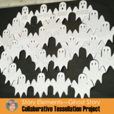 Halloween Ghost Story Group Tessellation Project | Fun October Activity!