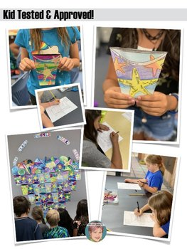 Summer Bucket List Collaborative Tessellation Project - End of the Year Activity