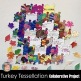 "Turkey Tessellation Collaborative ""I Am Thankful For"" Than"