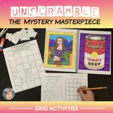 Unscramble The Mystery Masterpiece - Fun Art History Activity!