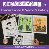 Unscramble the Famous Faces® of Women's History | Women's
