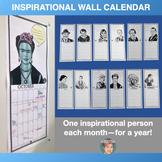 Year-long Inspirational Wall Calendar for Teachers