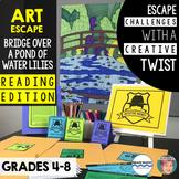 Art Escape: Claude Monet Water Lilies (Reading Edition)