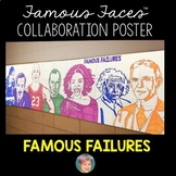 Famous Failures Poster | Fun Collaborative Classroom Growth Mindset Activity