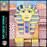 The Great Sphinx of Giza, Egypt Collaboration Poster - Anc