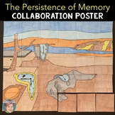 The Persistence of Memory By Salvador Dali Collab Poster
