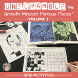 Unscramble Famous Faces™ of Growth Mindset Vol. 2 - 7 People included