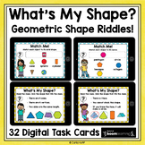 Geometric Shape Riddles | BOOM Cards Distance Learning