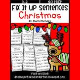 Christmas Fix It Up Sentences