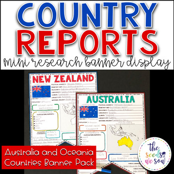 Country Report Research Display: Australia and Oceania