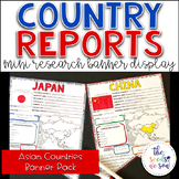 Country Report Research Display: Countries of Asia