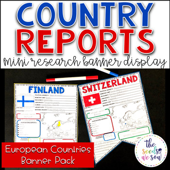 Country Report Research Display: Countries of Europe