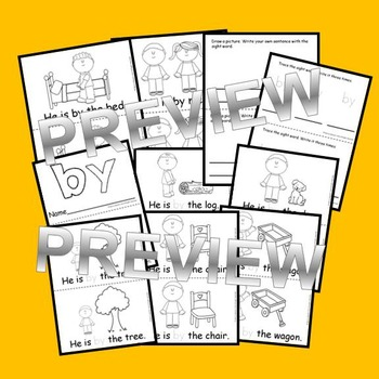 Sight Word Reader: by