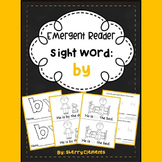 Sight Word Fluency Reader BY