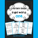 Sight Word Fluency Reader ONE