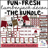 Lumberjack Classroom Decor: The Bundle