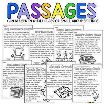 Color with a Purpose Reading Passages (CH Words)